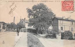 SOISY SOUS MONTMORENCY - La Gare Et Le Passage à Niveau - Soisy-sous-Montmorency