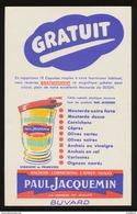 PAUL JACQUEMIN / MOUTARDE / ANCHOIS / CAPRES / OLIVES - Alimentaire