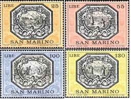 San Marino 1972 Serie La Leggenda Di San Martino - San Marino