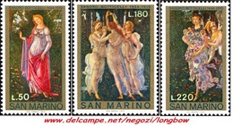 San Marino 1972 Serie Natale - San Marino