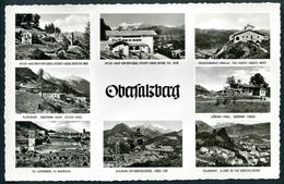 AK Obersalzberg, MBK (8) Mit Hitler-Haus,Bormann-Haus, SS-Kasernen - Weltkrieg 1939-45