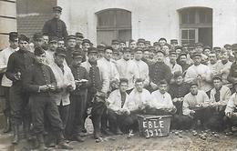 76)   EBLE  1911   (  Carte Photo Militaire  ) - France