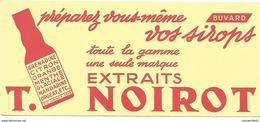 Buvard 20.8 X 9 T. NOIROT Extraits Pour Préparation De Sirop / TBE - Alimentaire
