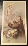 "Antico Santino Holy Card "" S. ANTONIO "" Ed. NB 5038 - Religion & Esotérisme"