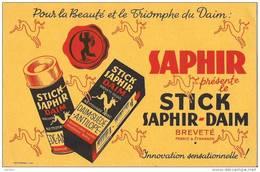 STICK SAPHIR DAIM POUR LA BEAUTE ET LE TRIOMPHE DU DAIM - Produits Ménagers