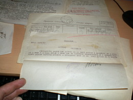 Telegram Nazy Okupation Banat  Landratsamt Werschetz  Hajducica  1942 Telegramm Privatni Telegram - 1939-45