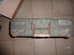 Valise Pour Grenade à Manche  1939-45, Grenade Casques Et Coiffures, Armes Neutralisées Uniformes, Autres, Véhicules, - 1939-45