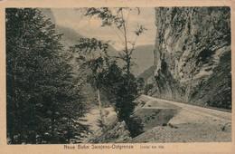 BOSNIA. NEUE BAHN SARAJEVO OSTRAGRENZE. J. STUDNICKA & CO. CIRCA 1930s - BLEUP - Bosnië En Herzegovina