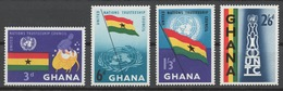 Ghana 1959 Mi# 69-72** UNITED NATIONS TRUSTEESHIP COUNCIL - Ghana (1957-...)