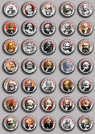 35 X Karl Marx 200 Years BADGE BUTTON PIN SET 1 (1inch/25mm Diameter) - Personnes Célèbres