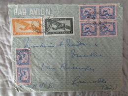 1949 - LETTRE AVEC 8 TIMBRES - Vietnam