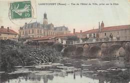 LAHEYCOURT - Vue De L'Hôtel De Ville, Prise Sur La Chée - France