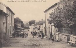 SAUCOURT: Rue Du Pavet - Autres Communes