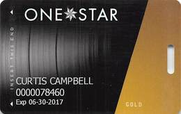 Hard Rock Casino - Tulsa OK - Slot Card With LVP782200-1 Over Mag Stripe - Cartes De Casino