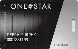 Hard Rock Casino - Tulsa OK - Slot Card With LVP782200-2 Over Mag Stripe - Casino Cards