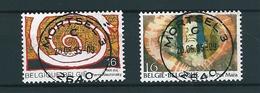 [2138] Zegels 2602 - 2603 Gestempeld - Belgique