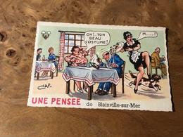 263/ UNE PENSEE DE BLAINVILLE SUR MER - Humour