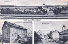 Deutschland -  Gruss Aus MORSCHBACH - Totalansicht - Strassenansicht - Gasthaus Von Heinrich Schorsch - Allemagne