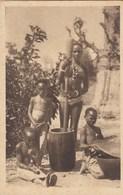 AFRIQUE OCCIDENTALE FRANCAISE (SENEGAL) : Pileuse De Mil - Senegal