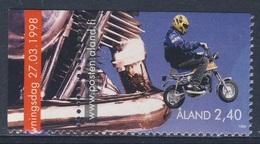 Aland 1998 Mi 136 SG 132 ** Boy On Moped / Mopedfahren - Youth Activities / Jugendaktivitäten - Transportmiddelen