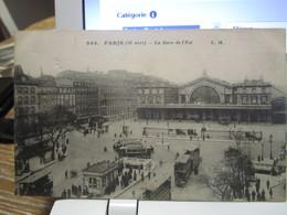 PARIS : GARE DE L'EST (10° Arrt )  Animée - Métro Parisien, Gares