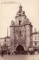 La Rochelle - Porte De La Grosse Horloge - La Rochelle