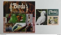Palau 2015** Klb.3668-73 + Bl.332. Birds Of The South Pacific MNH [15;61] - Oiseaux
