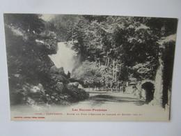 Cauterets. Route Du Pont D'Espagne Et Cascade Du Cerisey. Labouche 1042 - Cauterets