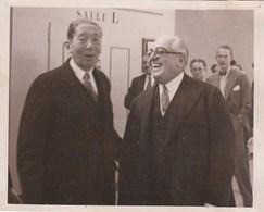 PHOTO ORIGINALE (12X15)le Probleme Italo - Abyssin  Devant Le Conseil De La Ste Des Nations  A Geneve (aga Khan) - Célébrités
