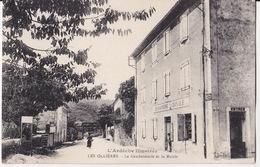 Les Ollieres-la Gendarmerie Et La Mairie 2 Scan - France