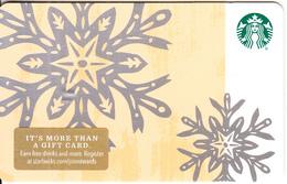 USA - Starbucks Card(pale Orange), CN : 6157, Unused - Cartes Cadeaux