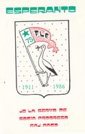 ESPERANTO  1911 - 1986 - Esperanto