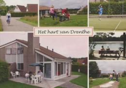 Het Hart Van Drenthe  (gelopen Met Postzegel) [AA24-0.550 - Pays-Bas