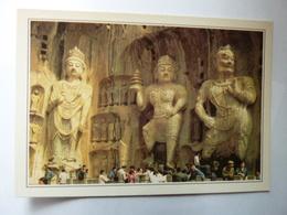 CHINE - Luoyang Long Men - La Grotte Juxiah Si - Collections