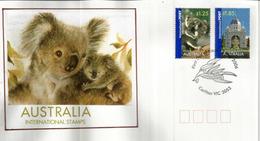 Koalas International Post Stamps. FDC Année 2006, Hautes Faciales - 2000-09 Elizabeth II