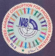 PAKISTAN 2018 - NAB United Against Corruption For Prosperous Pakistan, 1v MNH - Pakistan