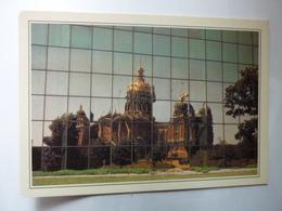 USA - Etats Unis - Des Moines, Reflet Du Capitole Sur La Façade Du Wallace Building - Collections