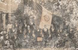 RAMBOUILLET 78 CLASSE 1913 CARTE PHOTO ABIMEE VERNIS PARTI - Rambouillet