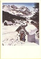 Tematica - Feste - Cappella In Montagna Innevata - Dall'originale Dipinto Con La Bocca Da C.PERROT - Not Used - Cartoline