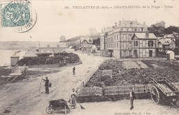 Seine-maritime - Veulettes - Grand-Hôtel De La Plage - France