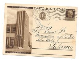 2781) Intero Postale OPERE REGIME 30c LITTORIA POSTE 1933 - Interi Postali