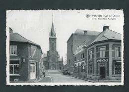 Pâturages (Cul Du Q'vau) Eglise Notre Dame Auxiliatrice. Animée, Commerces, Automobile - Colfontaine