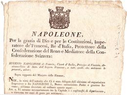 NAPOLEON  NAPOLEONE DOCUMENT EDITOR 1811 100% ORIGINAL  END INTEGRAL (DICE180062) - Decreti & Leggi