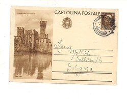 2785) Intero Postale Turistica 30c SIRMIONE 1936 Parma Bologna - Interi Postali