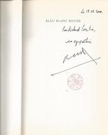 Dédicace De Max Gallo - Bleu Blanc Rouge : Mariella - Livres, BD, Revues