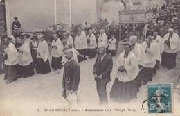 Vienne - Charroux - Ostensions 1911 - Clergé - Dais - Charroux