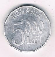 5000 LEI 2002  ROEMENIE /8519/ - Roumanie