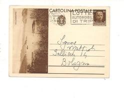 2788) Intero Postale Turistica 30c ISOLE BORROMEE 1936 1^ TIRATURA - Interi Postali