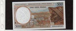 Banconota In Ottimo Stato Da 500 Franchi - Rep. Centrale Africana - 1993 - Banque Des Etats De L'Afrique Centrale - Autres - Afrique
