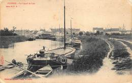 Furnes Veurne  Le Canal De Loo  Binnenschip     I 4694 - Veurne